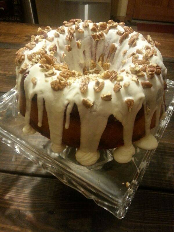 Red Velvet Bundt Cake With Cream Cheese Filling Two Cousins And A